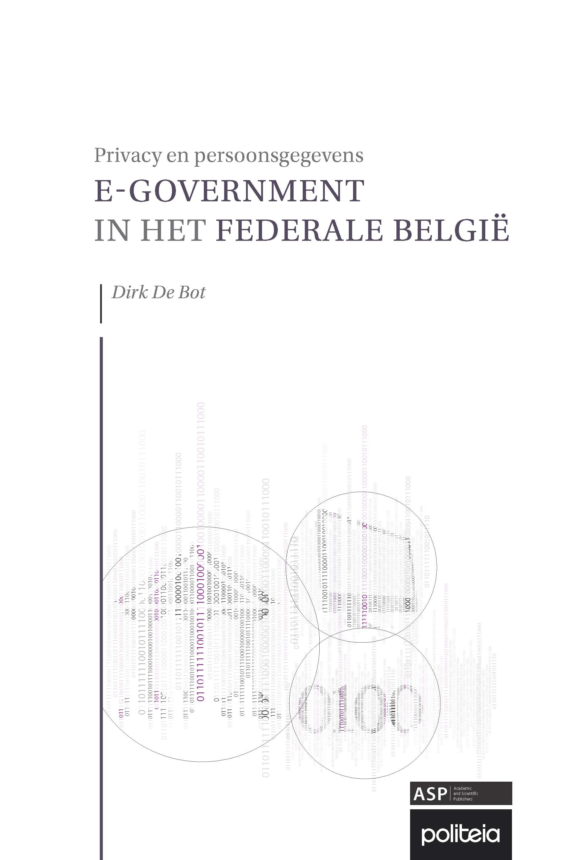 E-GOVERNMENT IN HET FEDERALE BELGIË