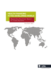 HEALTH FINANCING IN THE DEVELOPING WORLD